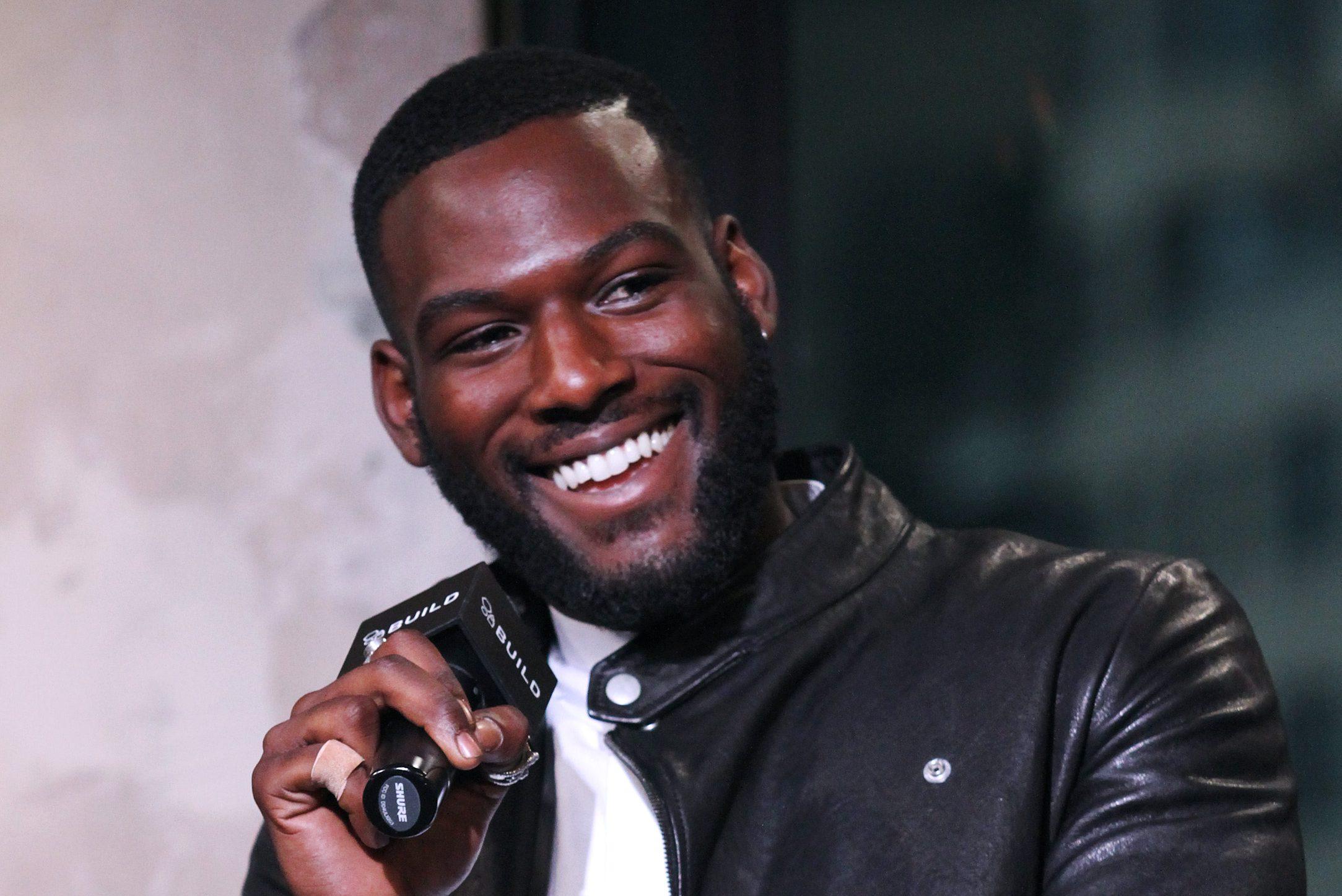 Sexy black male celebrity