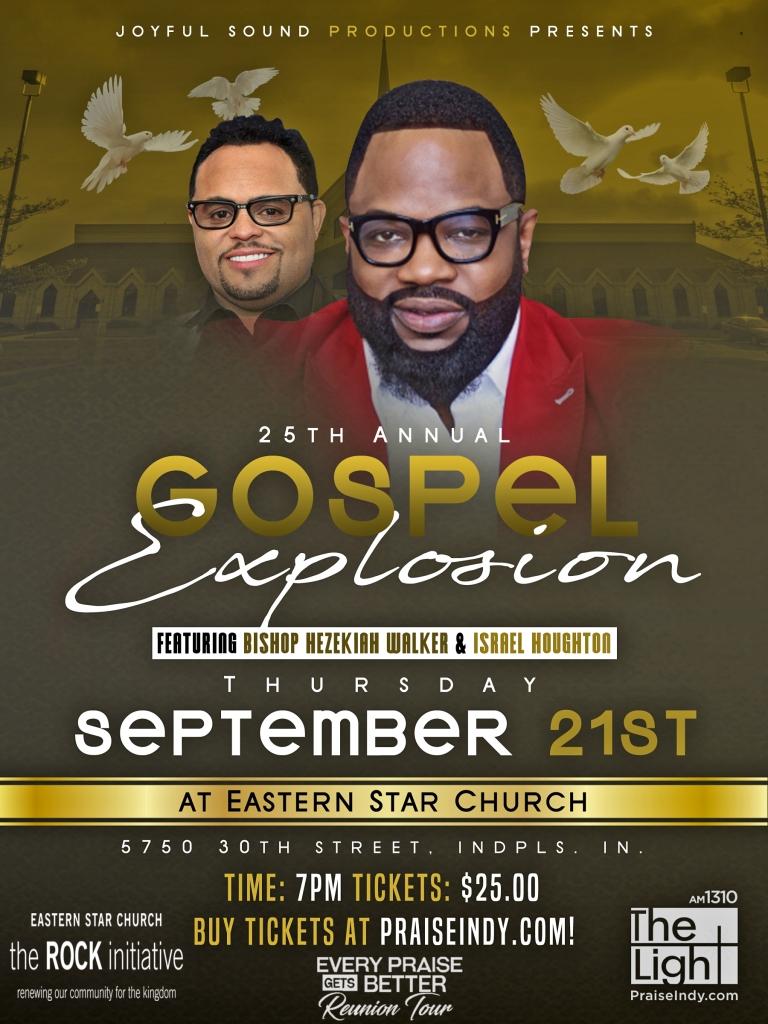 Gospel Explosion Updated Flyer