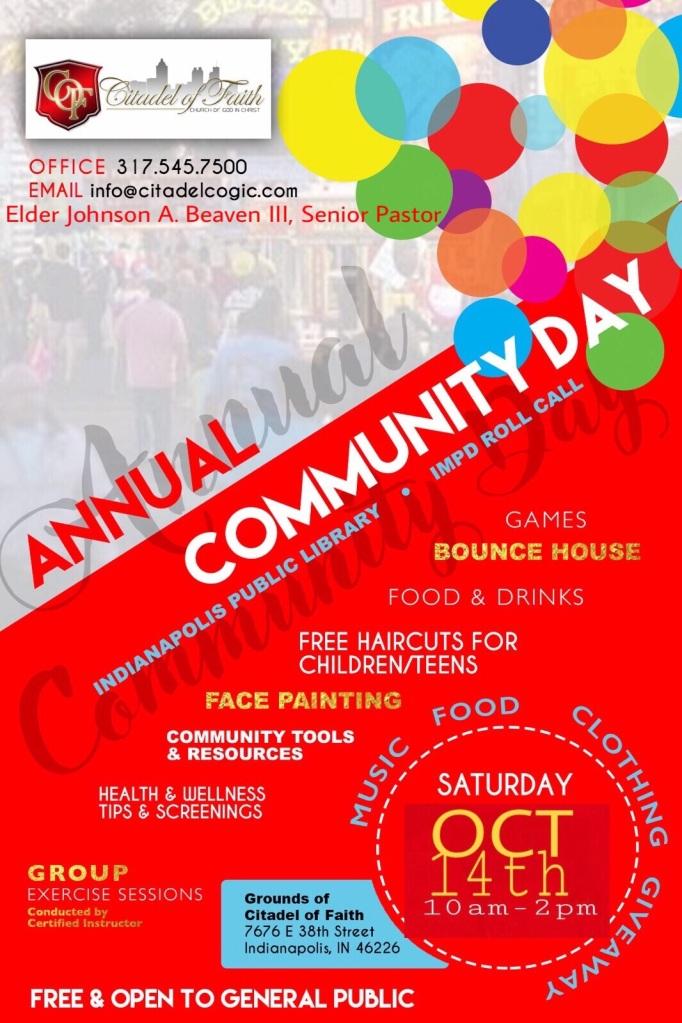 Citadel Community Day 2017