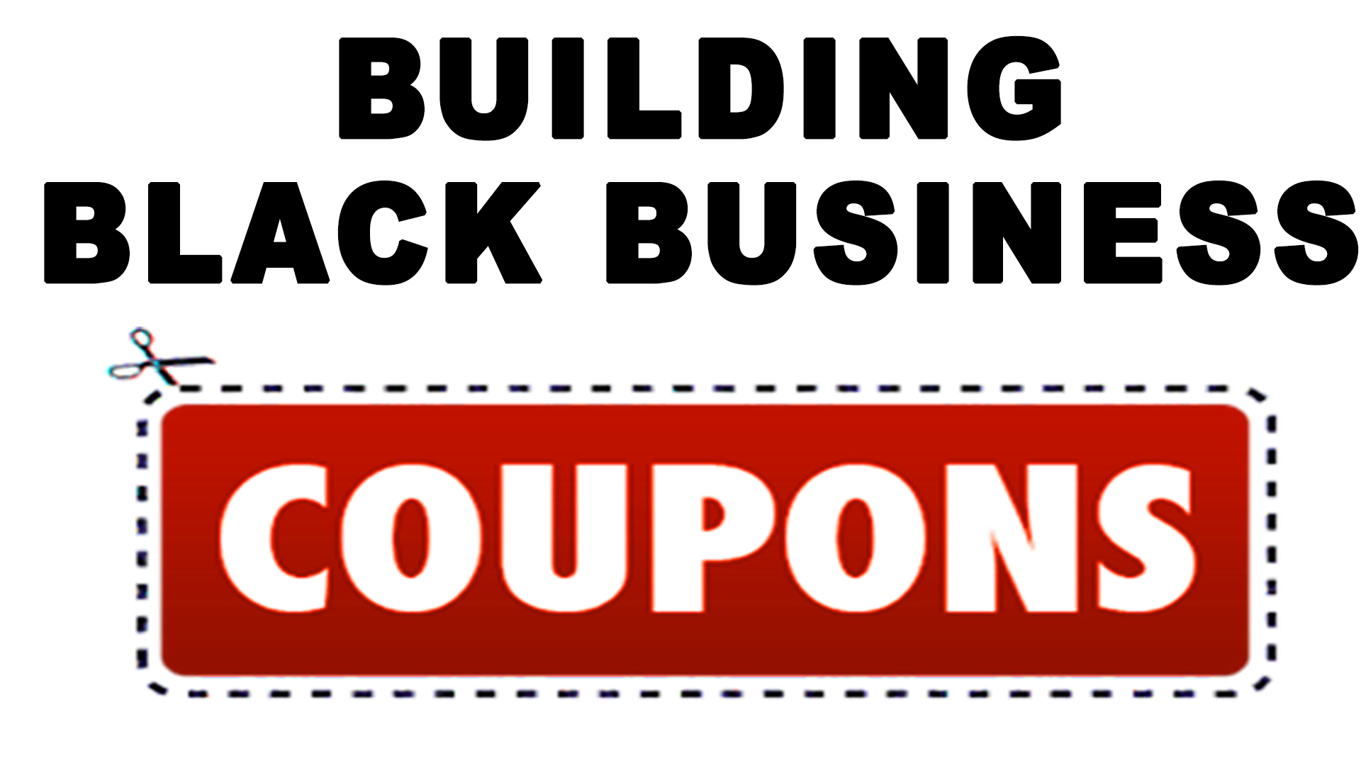 Building Black Business Coupons