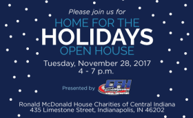 """""""Home for the Holidays"""" Open House Flyer"""