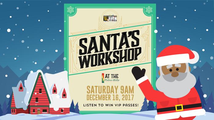 Santa's Workshop 2017 Flyer