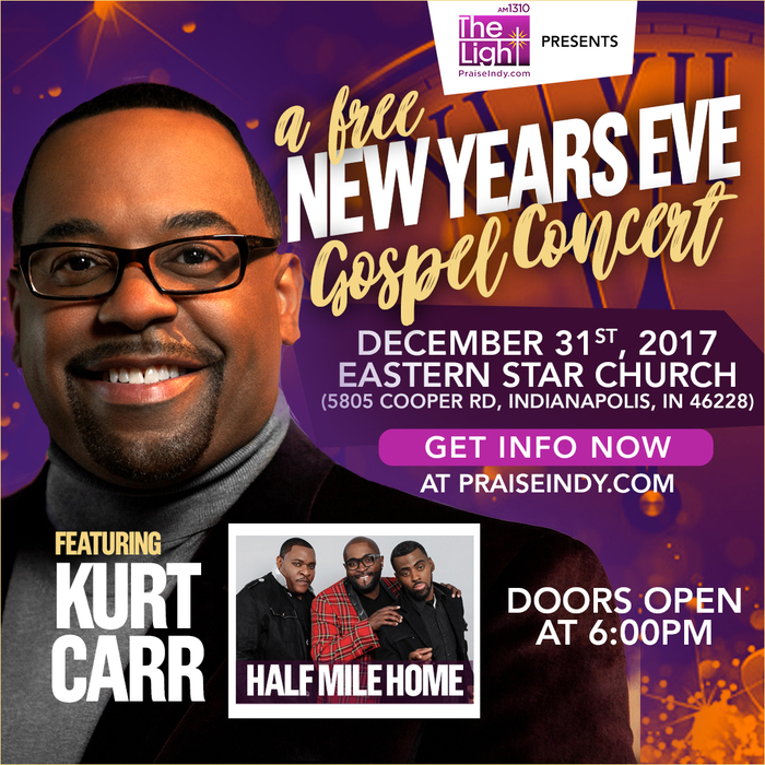 A FREE New Years Eve Concert Flyer
