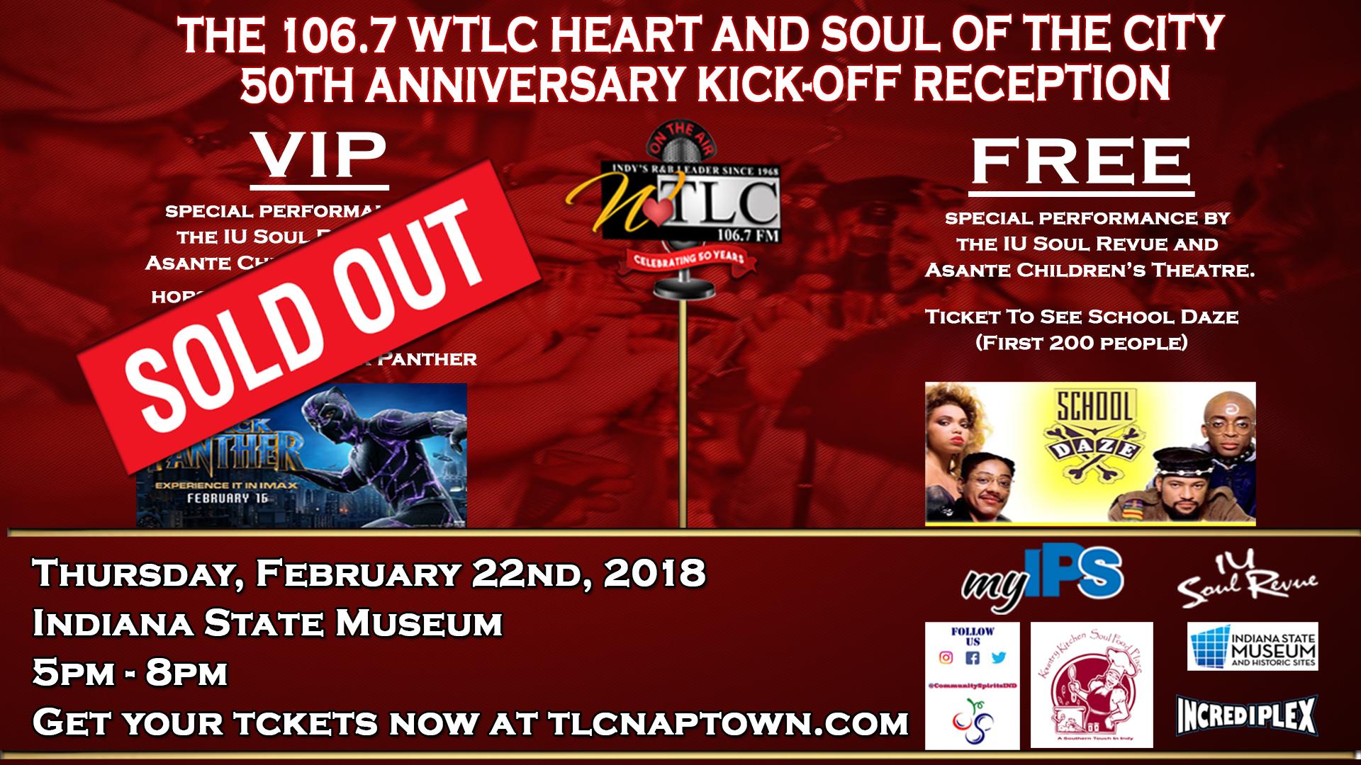 WTLC 50th Anniversary Kick-Off Reception Flyer