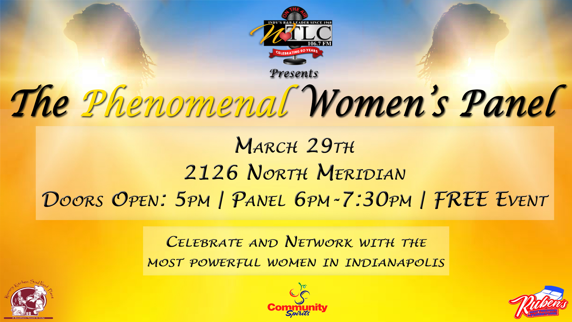 Phenomenal Women's Panel 2018 Flyer
