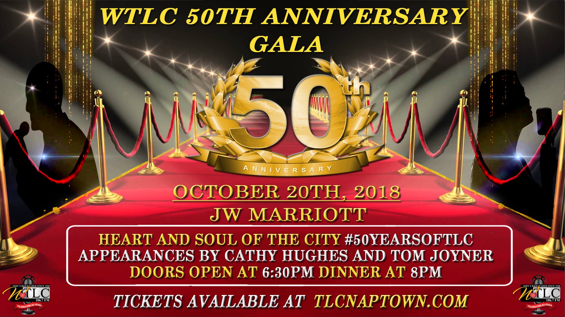 WTLC 50th Anniversary Gala Flyer