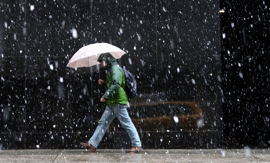Nor'easter Hits New York City