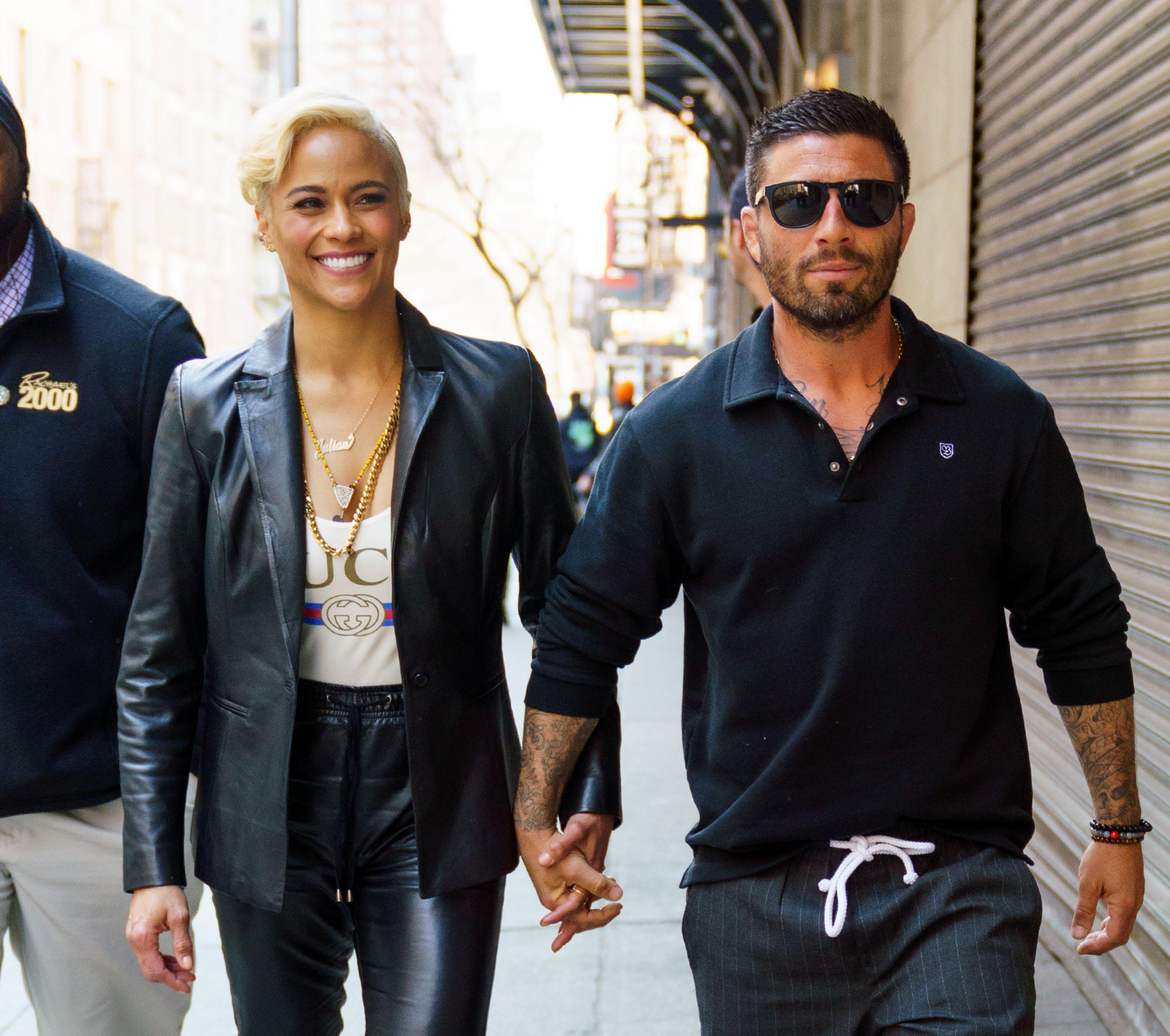 Celebrity Sightings in New York City - April 18, 2018