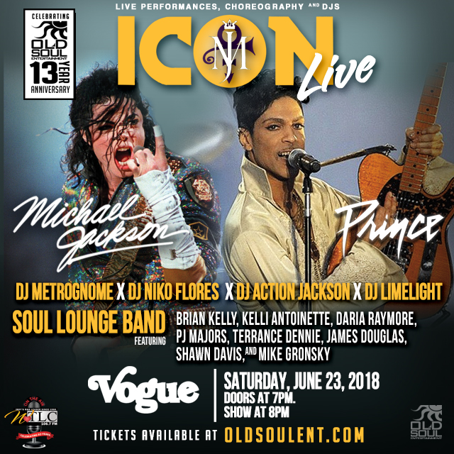 ICON Live: MJ and Prince Flyers