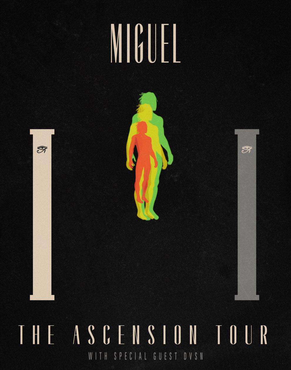 Miguel Indy Concert Flyer