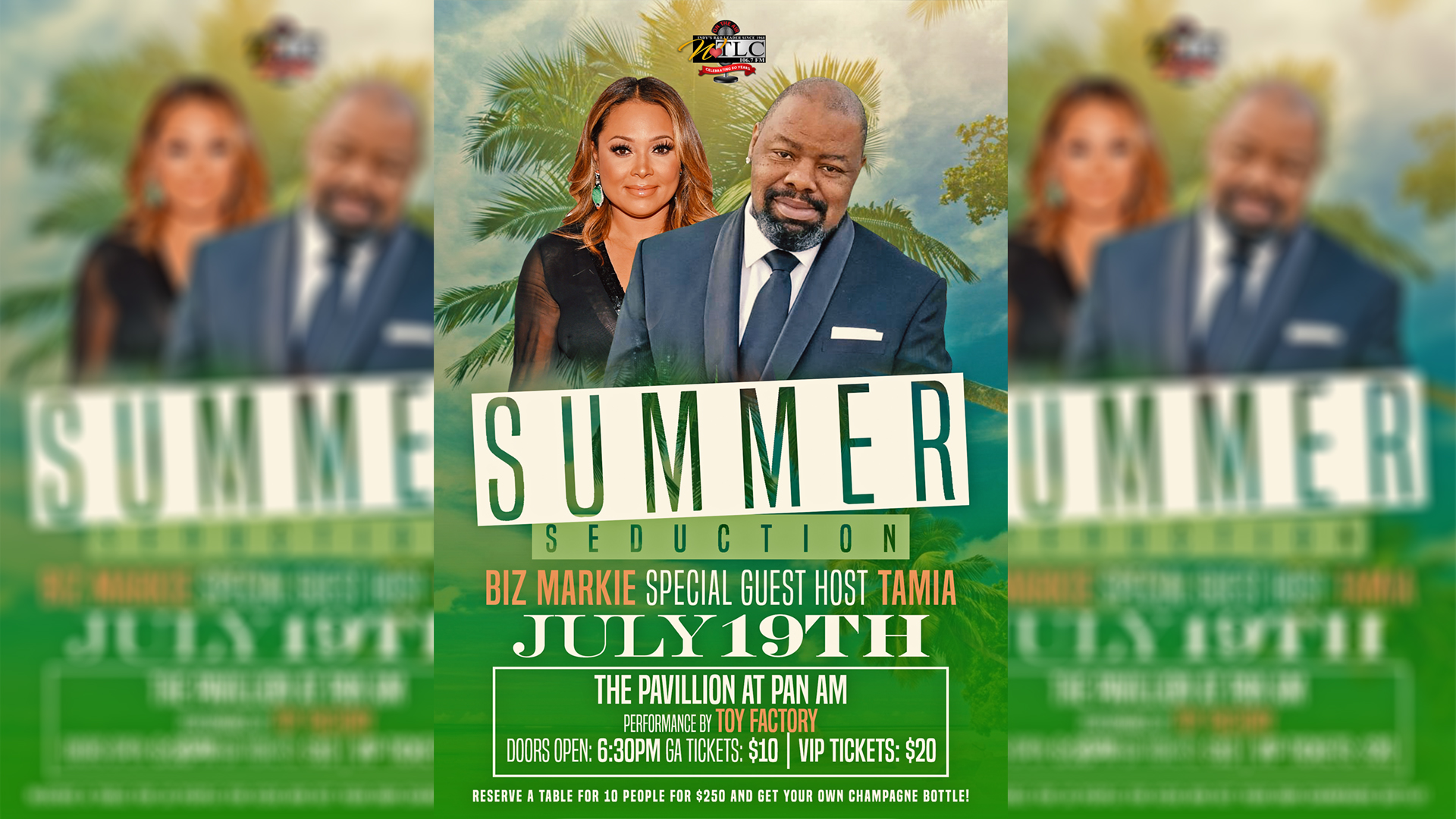 Summer Seduction 2018 Flyer