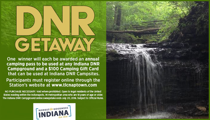 Camping Getaway Package Register to win Sweepstakes