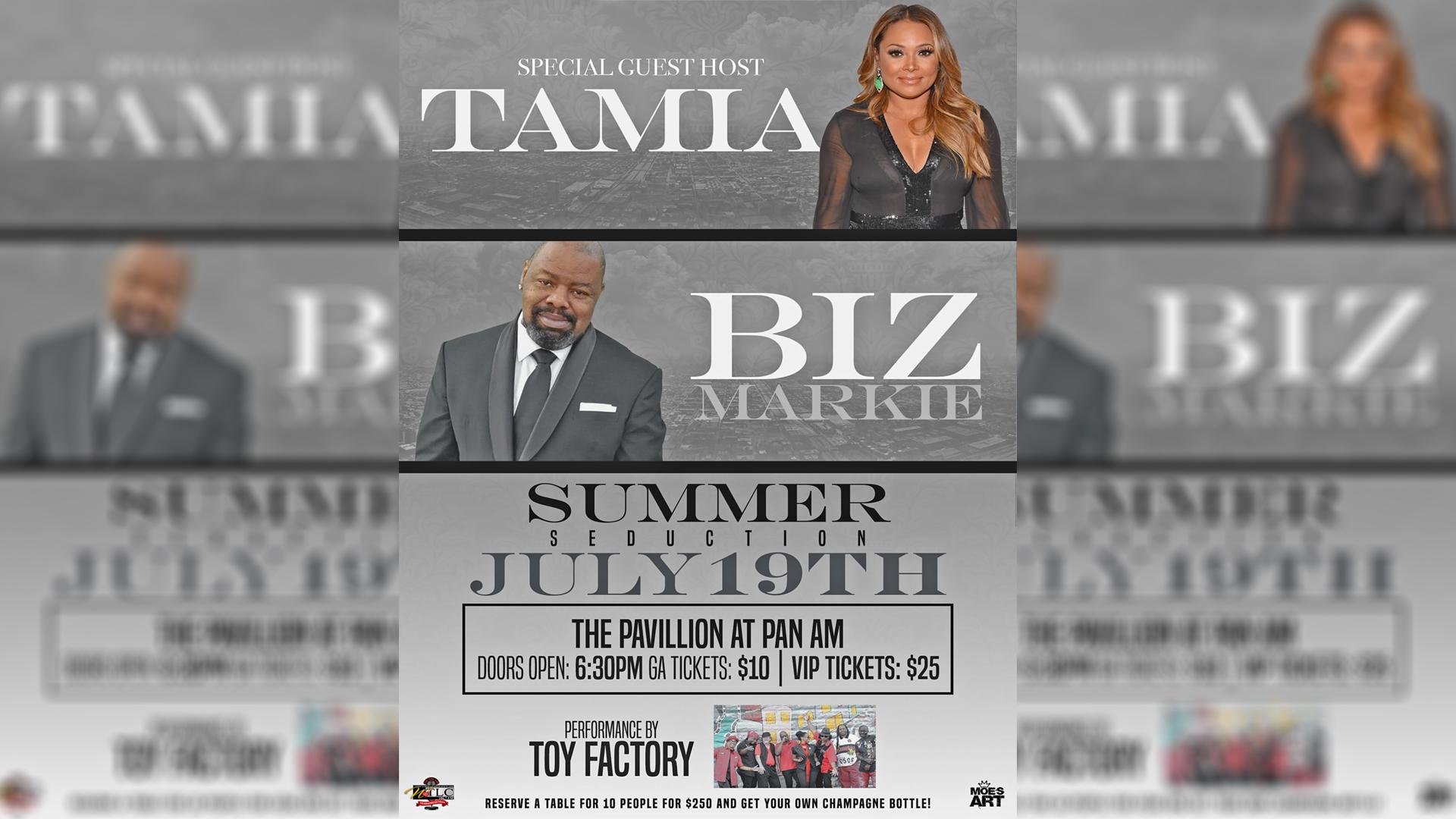 Summer Seduction 2018 Flyer