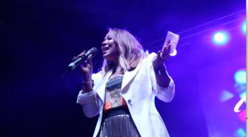 Tamia Sings Acappella - 106.7 WTLC