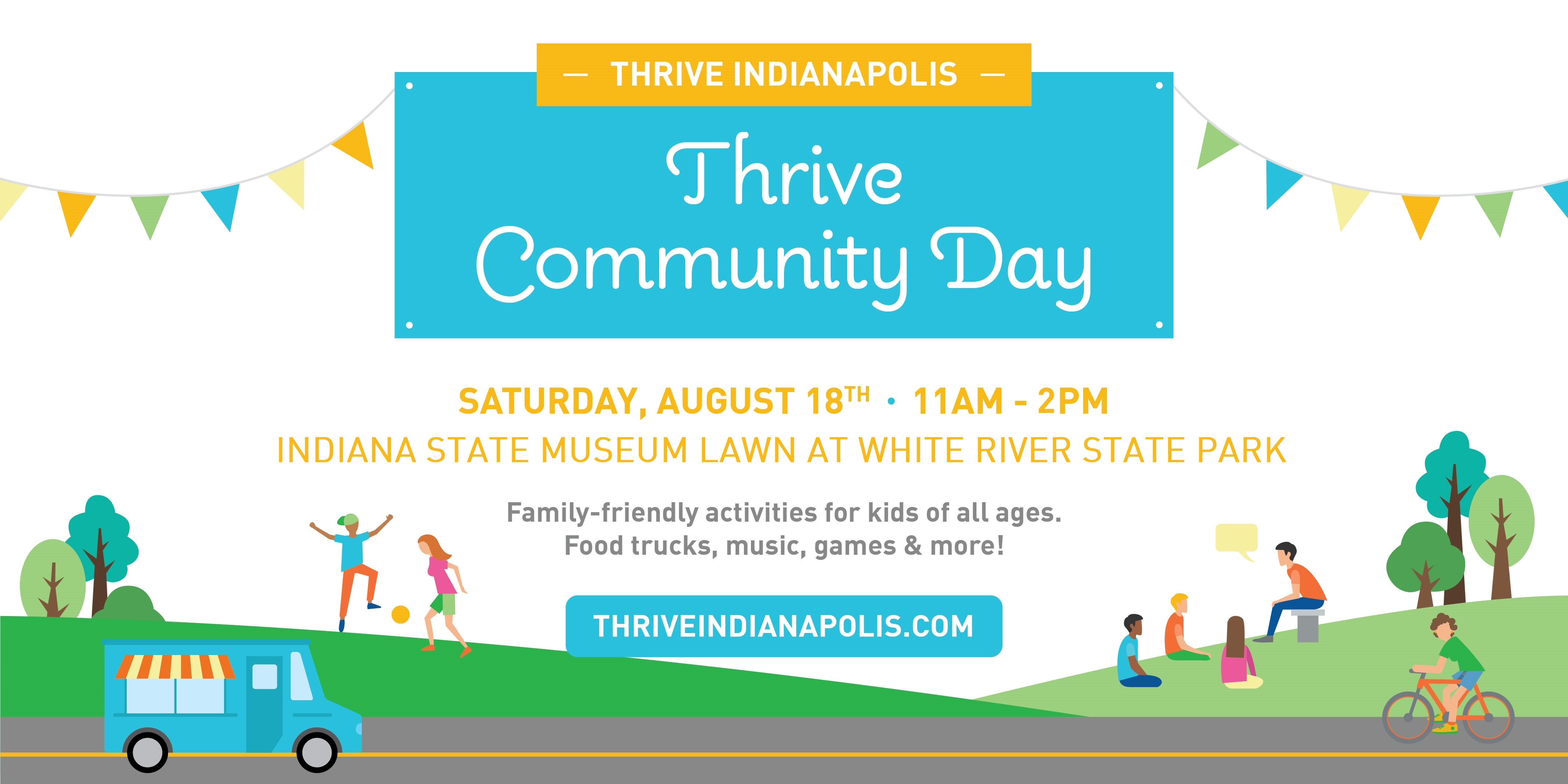 Thrive Community Day Graphic