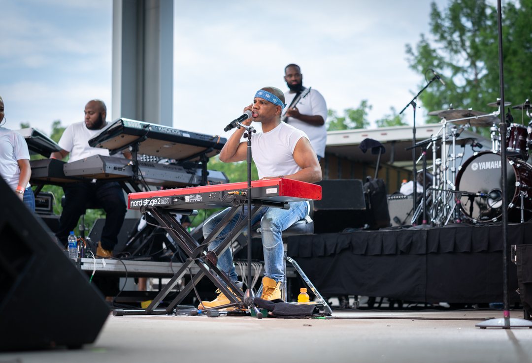 Kirk Franklin @ 2018 Indiana State Fair