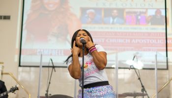 Erica Campbell Performs at Gospel Music Explosion 2018