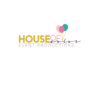 House of Color Event Productions Logo