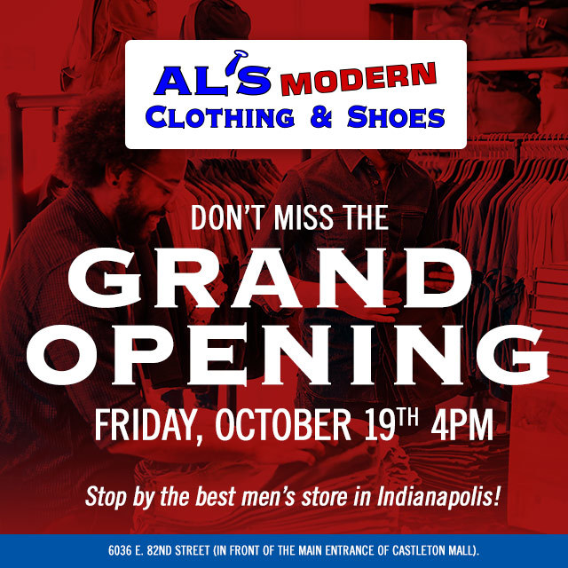 Al's Modern Clothing and Shoes Grand Opening