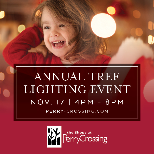 The Shops at Perry Crossing Tree Lighting 2018