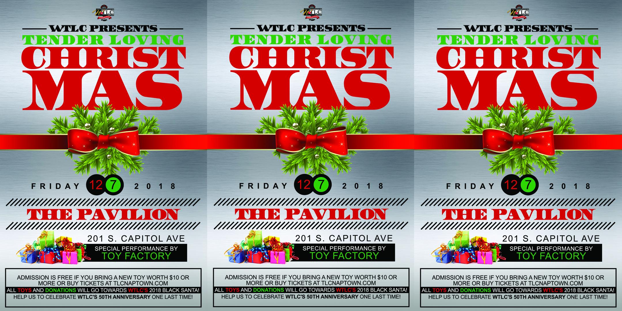 WTLC's Tender Loving Christmas Flyer