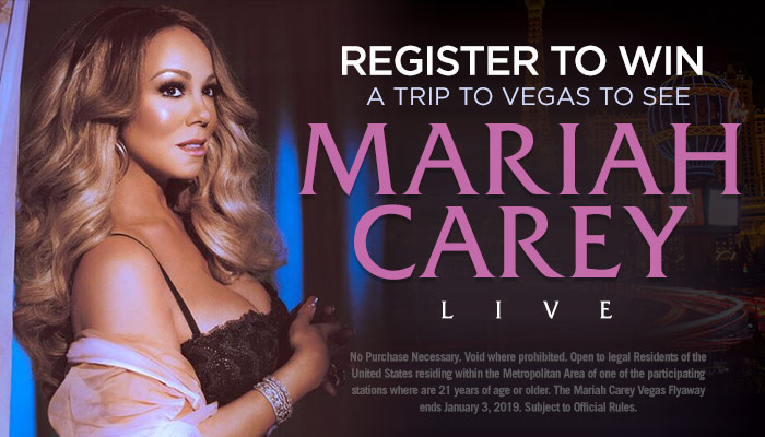 LOCAL: Mariah Carey Vegas Flyaway RD NOV 2018