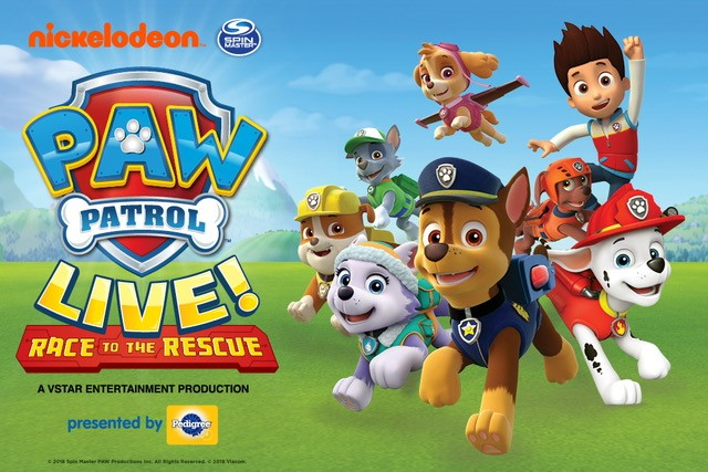 Paw Patrol LIVE! Flyer