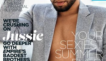 Jussie Smollett Essence Cover