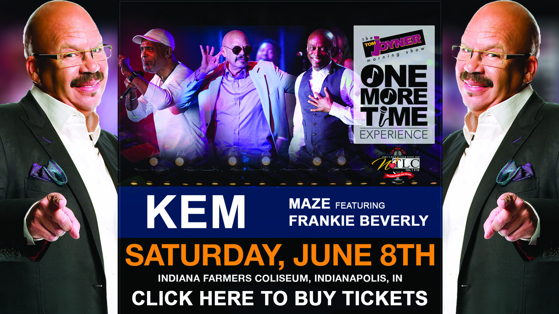 Tom Joyner's One More Time Experience Indy Flyer