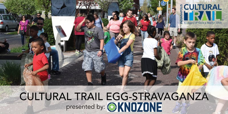 Indy Cultural Trail Egg-Stravaganza 2019 Flyer