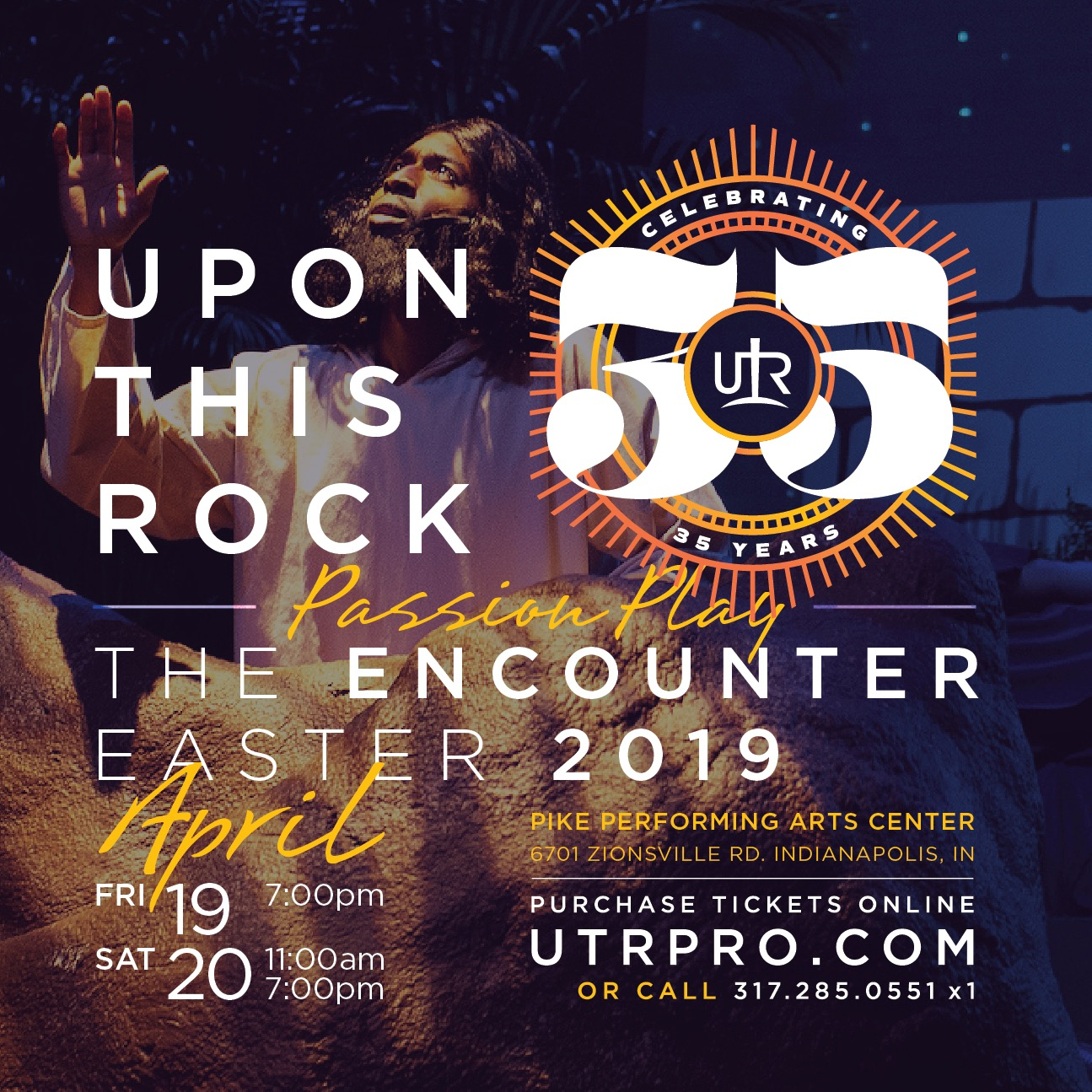 UPON THIS ROCK 2019: THE ENCOUNTER Flyer