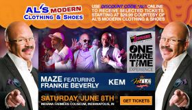Tom Joyner One More Time Tour Indy - AL discount