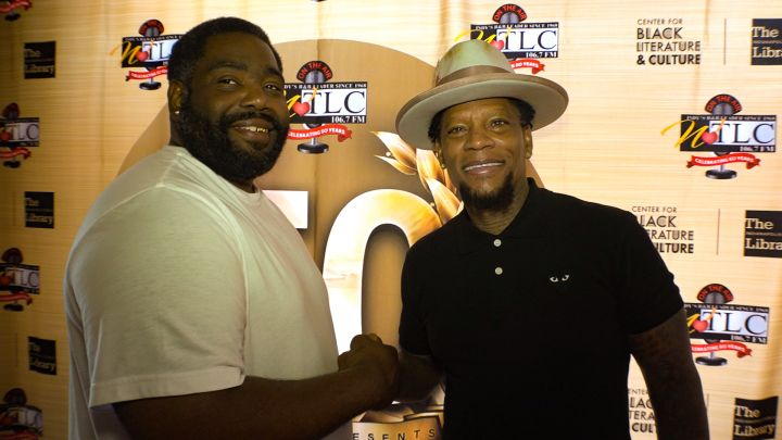 DL Hughley Meet and Greet Photos at Maxine's Chicken and Waffles in Indianapolis