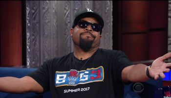 Ice Cube during an appearance on CBS's 'The Late Show with Stephen Colbert.'