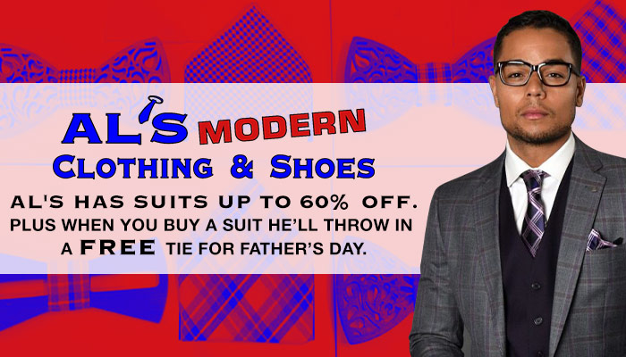 Al's Modern Clothing and Shoes Father's Day Remote
