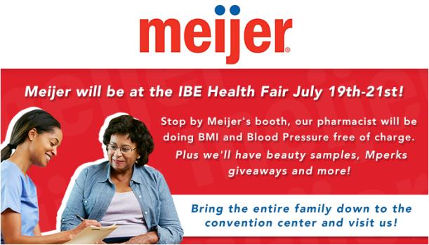Meijer IBE Health Fair (Tent)