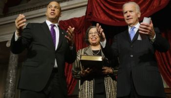Cory Booker Is Sworn In As US Senator After Special Election In NJ