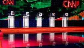 Las Vegas Prepares For First Democratic Presidential Debate