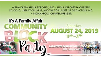 "AKA Alpha Mu Omega Chapter ""Family Affair Community Block Party"""