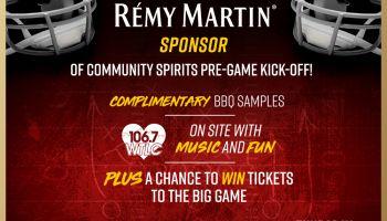 Remy Martin Pre-Game Event