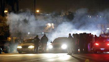 Illegal Street racing in Compton