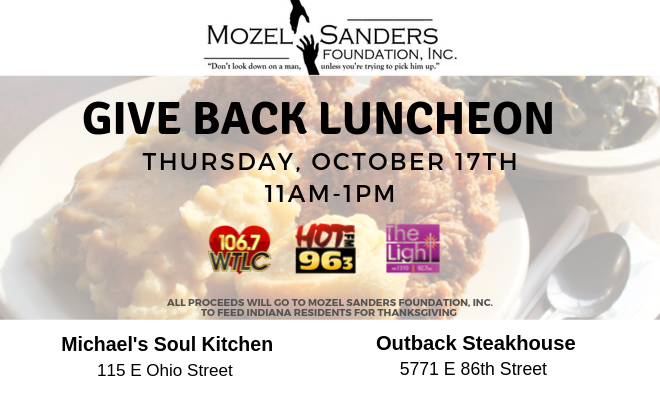 Mozel Give Back Luncheon