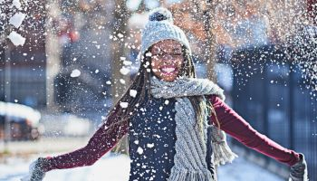 Snow is a celebration of life