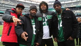 Celebrities Attend The New York Giants Vs New York Jets Game