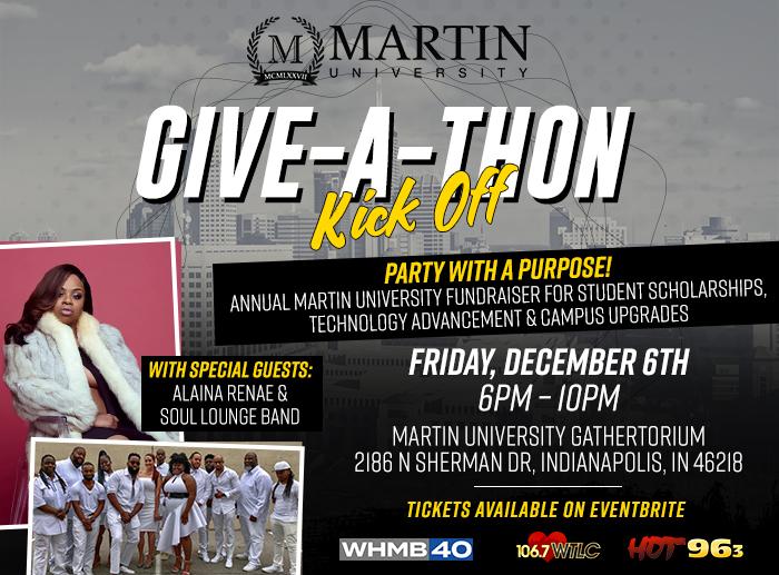 Martin University Give-A-Thon Kick Off