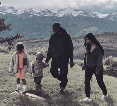Kanye West in Wyoming