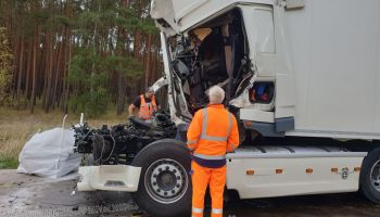 Two fatalities in truck accident: A2 near Magdeburg blocked
