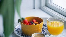 Breakfast In The Windowsill