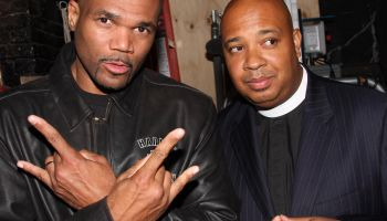 Run-DMC And Paula Wagner Visit 'In The Heights' On Broadway