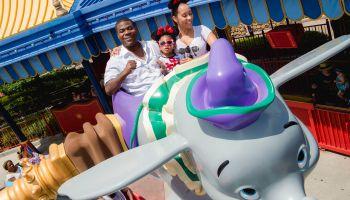 Tracy Morgan and family visit Walt Disney World July 2